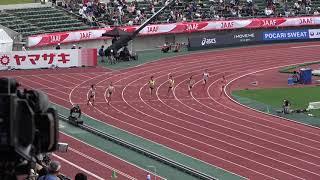 第102回日本陸上競技選手権大会 2018/06/23維新みらいふスタジアム 女子 2...