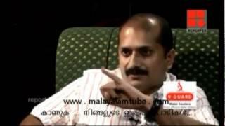 Repoter venu to Thiruvanchoor radakrishanan