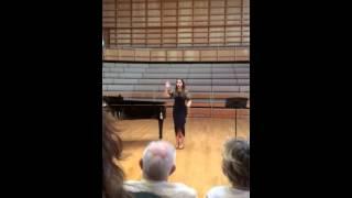 University of Kent Music Scholarship Concert - Dominique Ch