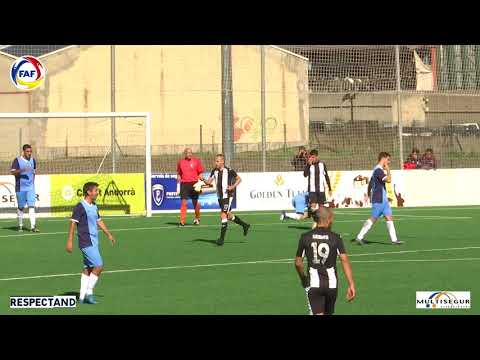RESUM: Lliga Multisegur Assegurances, J5. UE Engordany -  Inter Club d'Escaldes (4-1)