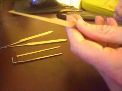 Beginner lock picking tools, tutorial, and demonstration