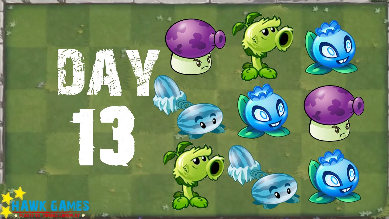 plants vs zombies 2 modern day day 13