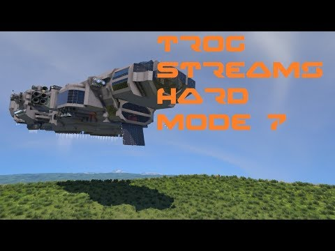 Space Engineers Live Stream: Hard Mode part 7- Ice, Hydrogen, and a Large Drill.