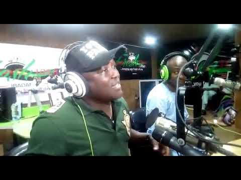 Saheed Osupa on FRESH FM. IBADAN.