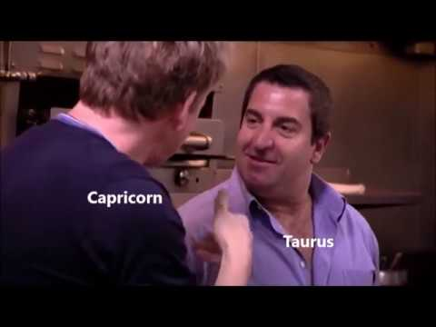 Kitchen Nightmares as Zodiac Signs