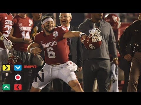Did Baker Mayfield help or hurt his NFL draft stock in 2018 Rose Bowl   Around The Horn   ESPN
