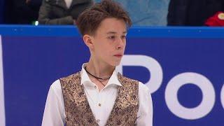 Егор Рухин Короткая программа Кубок России по фигурному катанию 2020 21 Пятый этап