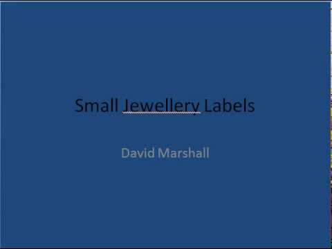 The Best Value Small Jewellery Labels