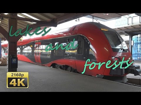 With the High Speed Train from Gothenburg to Stockholm - Sweden 4K Travel Channel