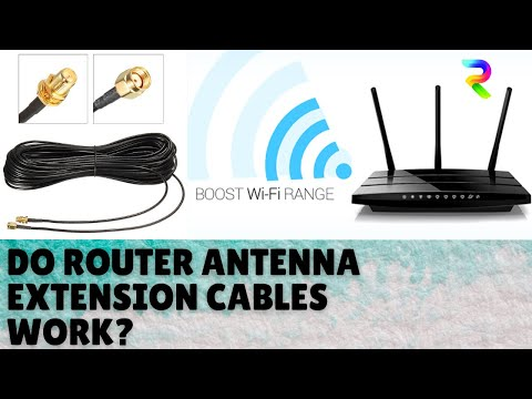 Router Antenna extension cable