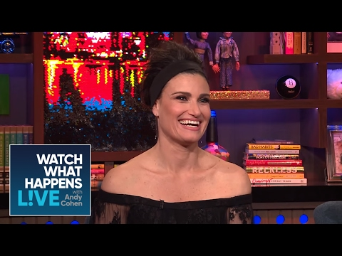Idina Menzel Casts Her Dream 'Wicked' Movie Elphaba - WWHL
