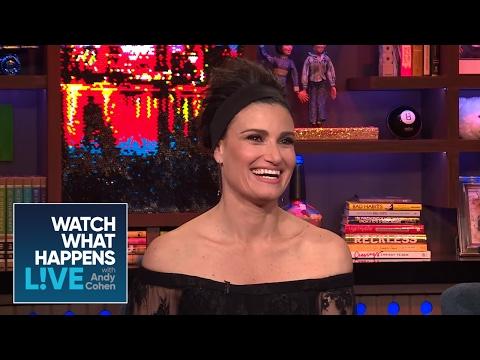 Idina Menzel Casts Her Dream 'Wicked' Movie Elphaba | WWHL