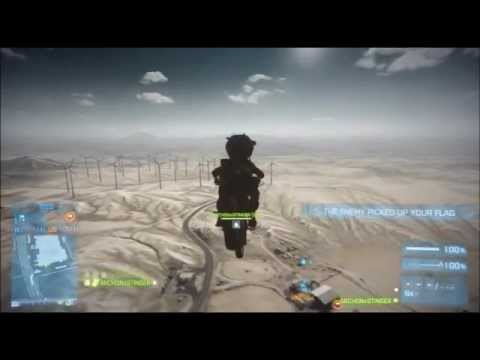 BF3 When Dirtbikes Fly....
