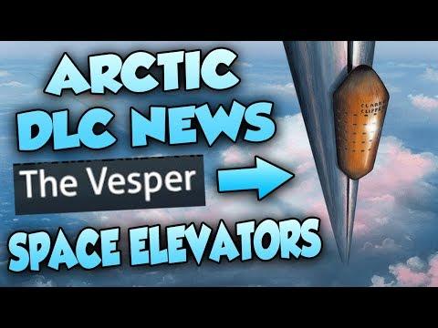 NEW ARCTIC BIOME DLC NEWS! - SPACE ELEVATORS (THE VESPER) + STORY INFORMATION REVEALED! | Subnautica