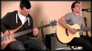 Kings of Leon - Use Somebody Acoustic Cover w/bass in HD High Definition 720p