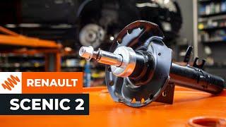 Hoe de RENAULT SCENIC 2 veerpoot reparatiekit vervangen Handleiding | Autodoc