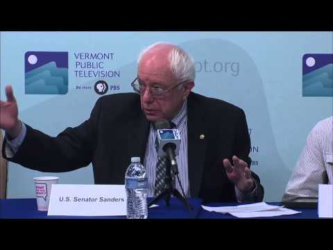 Roundtable Discussion with Senator Bernie Sanders