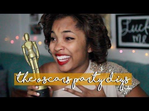 DIY Oscars Party Ideas || THE OSCARS 2016