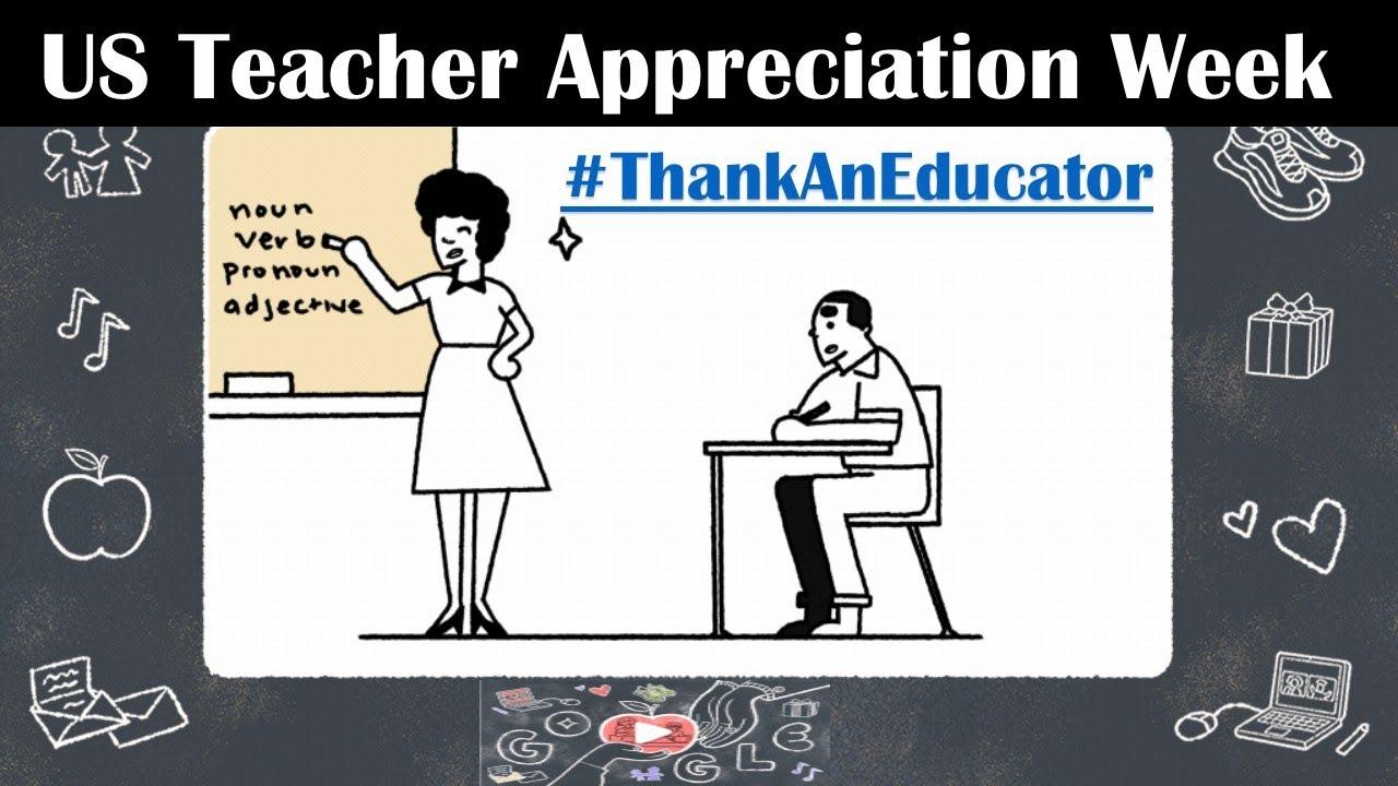 Google Doodle marks the beginning of Teacher Appreciation Week ...