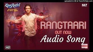 Rangtaari Full Audio Song(Loveratri) Yo Yo Honey Singh