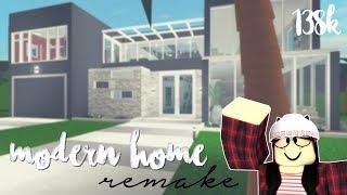 Roblox: Bienvenidoa a Bloxburg Remake moderno del hogar (138k)