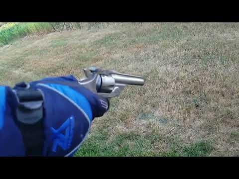 Misfiring antique pistol