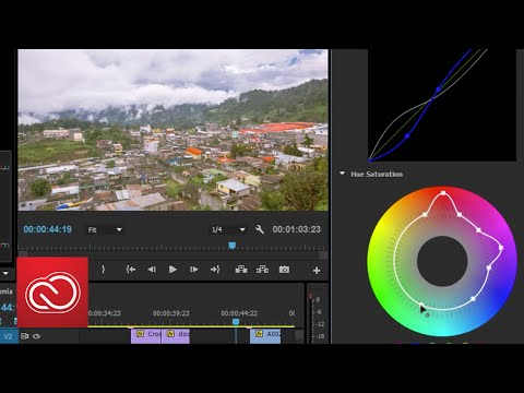 Coming To Adobe Premiere Pro – New Curve And Hue/Saturation Controls | Adobe Creative Cloud