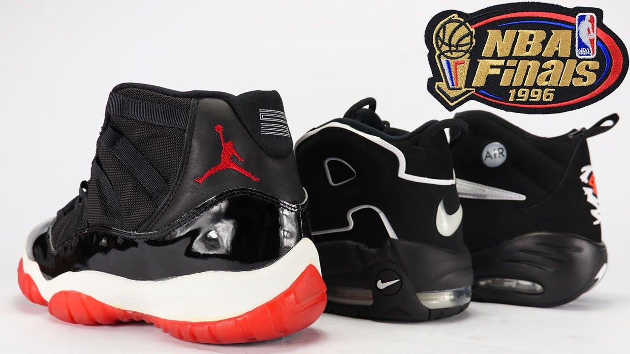 Unofficial Nike Air Jordan 96 Finals Pack - YouTube 985c270d2