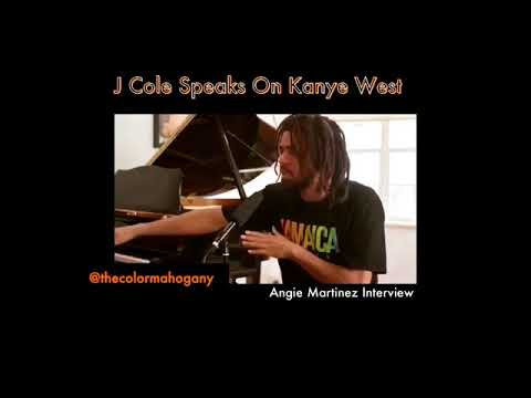 J COLE SPEAKS ON KANYE WEST SUPPORTING TRUMP