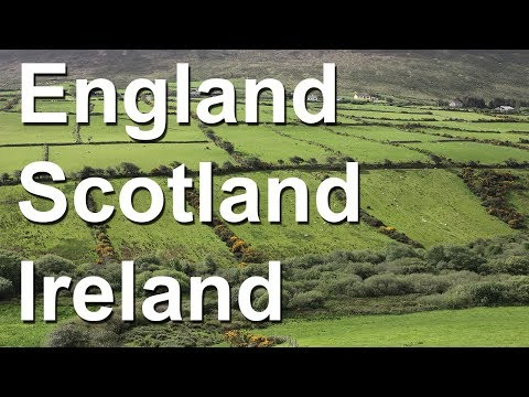 England, Scotland, Ireland - tour of British Isles