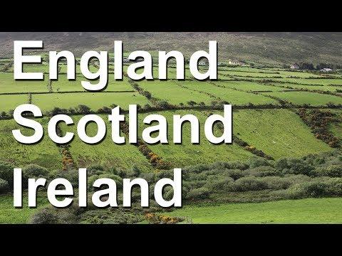 England, Scotland and Ireland tour summary