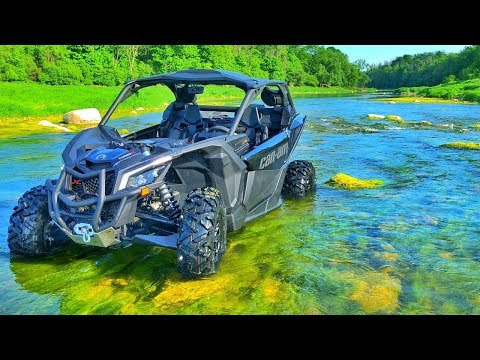 I Took The MAVERICK X3 THROUGH THE RIVER!!! | Mark Freeman #408