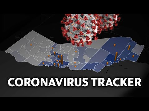 See Animated Map Showing Spread Of Coronavirus Cases And Deaths In California