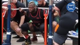 Kevin Oak - 987.5 kg (2177 lbs) Total WR @ 110 kg (242 lbs) - Tribute Meet