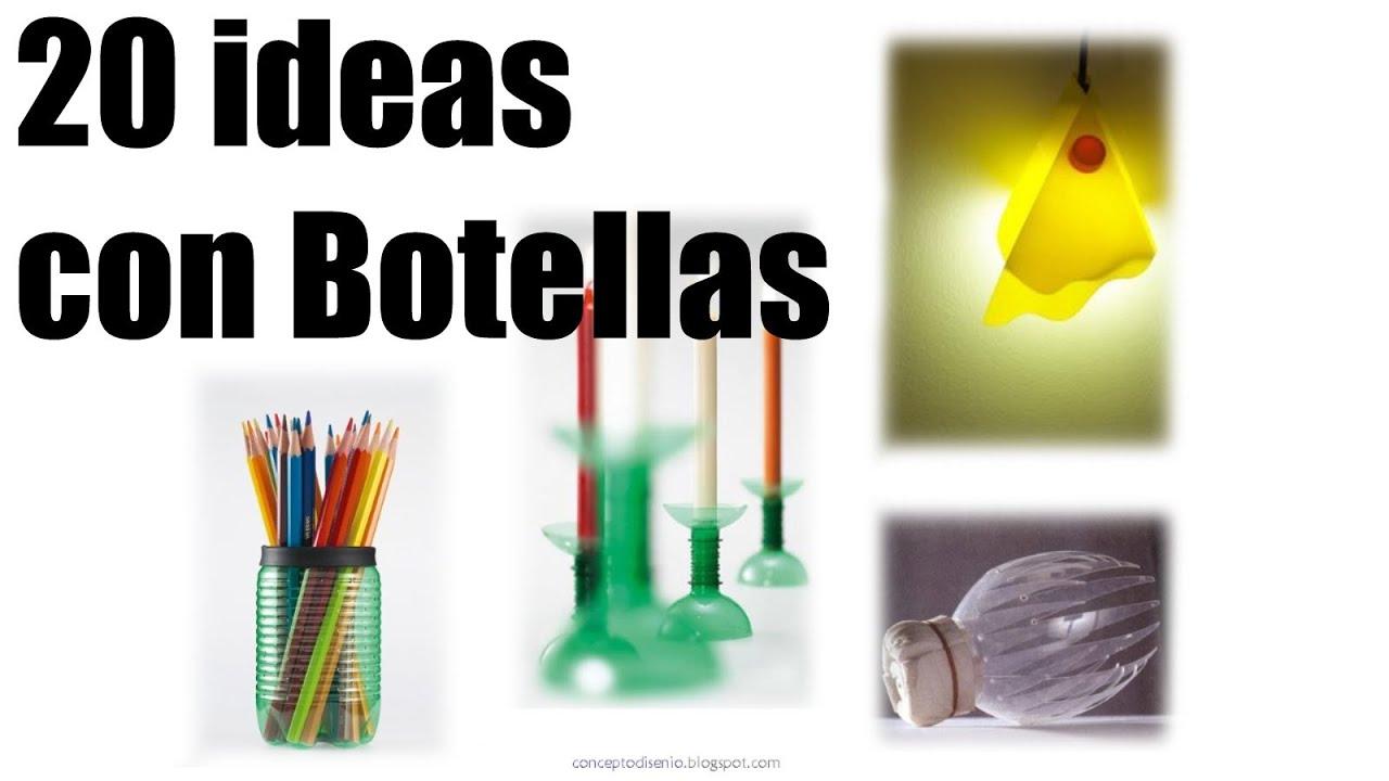 20 ideas para hacer con plastico de botellas recicladas - Que se puede hacer con botellas de plastico ...