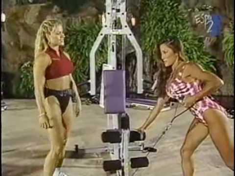 Kiana Tom & Monica Brant - Night Workout