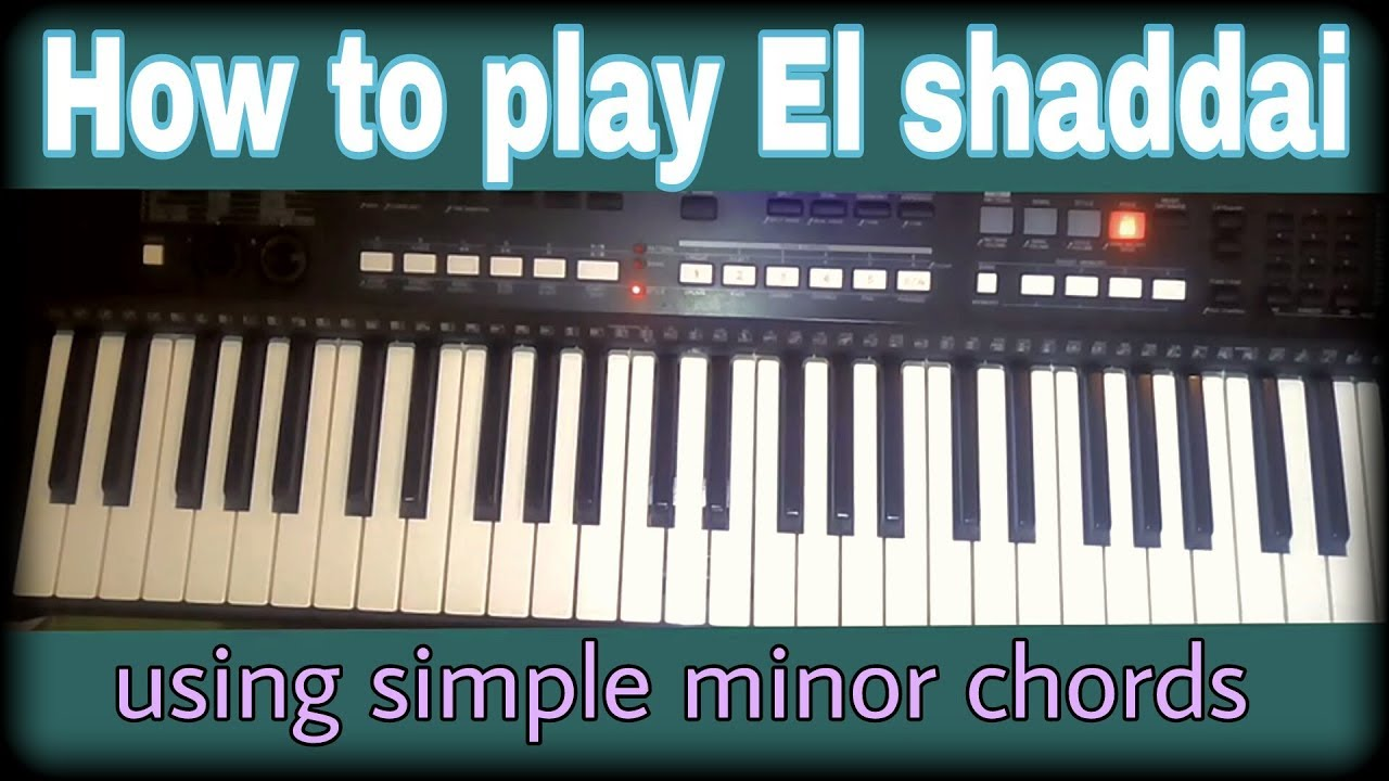 How To Play El Shaddai Replacing Boring Major Chords With Simple