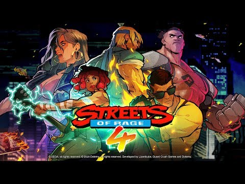Streets Of Rage 4 - Playthrough