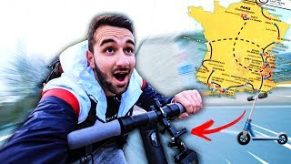 FAIRE LE TOUR DE FRANCE EN TROTTINETTE ÉLECTRIQUE ...