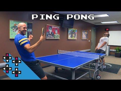 Ping Pong Battle! Cesaro vs. Rusev! — Gamer Gauntlet