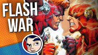 "Flash ""Godspeed to Negative Flash to Flash War"" - Full Story | Comicstorian"