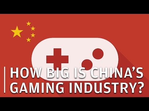 How big is China's gaming industry?
