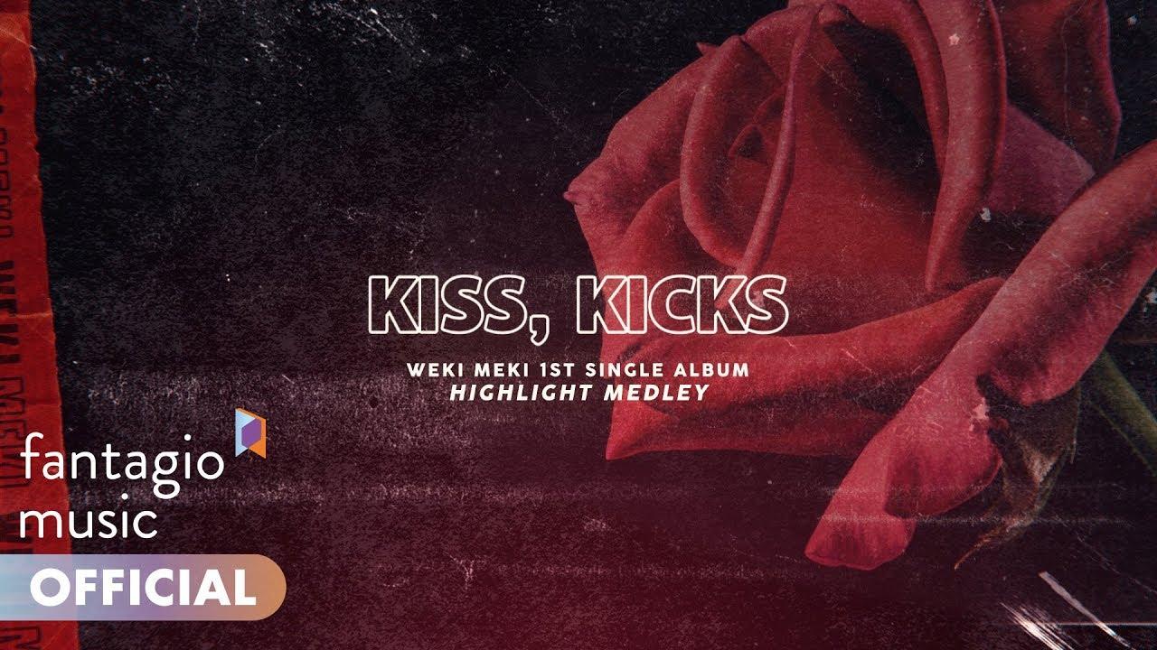「Weki Meki  《KISS, KICKS》」的圖片搜尋結果