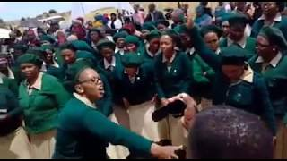 ZCC Female Choir goes all Wacha Mkhukhu Wachumlilo - Shango