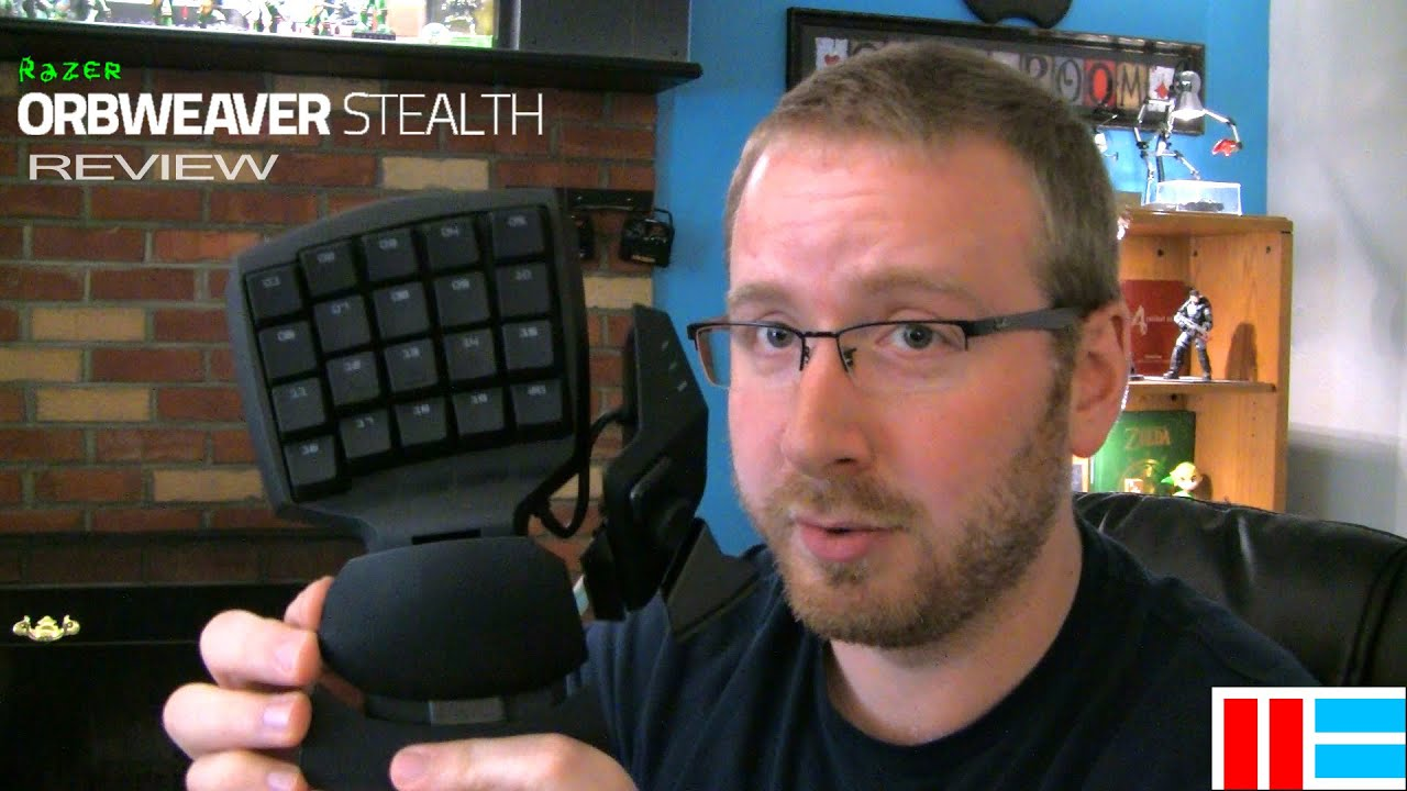 Razer Orbweaver Review & Comparison (Stealth Edition) - YouTube