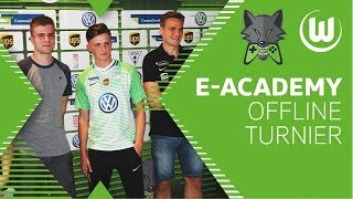 FifaGoalsUnited, Salz0r & TimoX beim FIFA 18 Turnier | Wolves E-Academy by CosmoDirekt