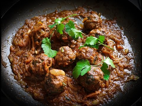 How to make meatballs curry