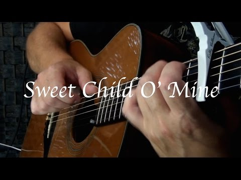 Kelly Valleau - Sweet Child O' Mine (Guns N' Roses) - Fingerstyle Guitar