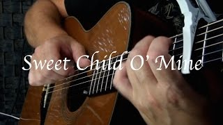 Kelly Valleau - Sweet Child O' Mine (Guns N' Roses) - Fingerstyle Guitar