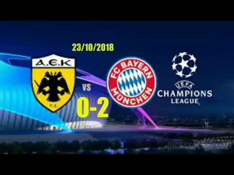 AEK- Bayern Munich 0-2 Greek boardcasting (radio)